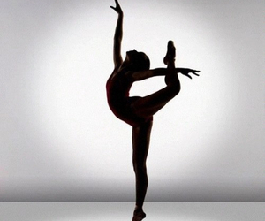 ballet, girl, and black and white image