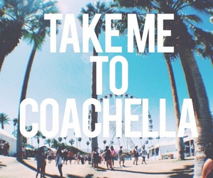 coachella, music, and summer image