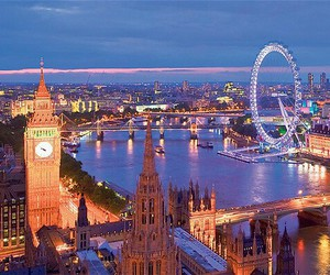 london, city, and england image
