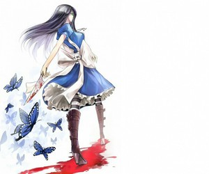 alice and butterfly image