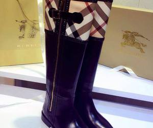 boots, Burberry, and fashion image