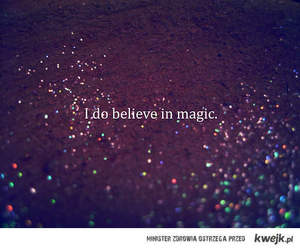 believe, magic, and text image