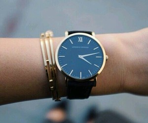 black, style, and watch image