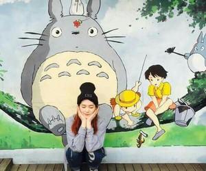 totoro girl japan image