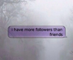 friends, followers, and grunge image