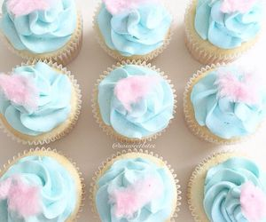 cupcakes, pastel, and sweet image