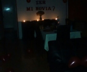 boyfriend, candles, and couple image
