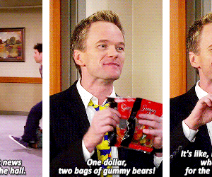 Barney Stinson, himym, and quotes image