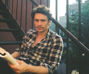 james franco, Hot, and book image