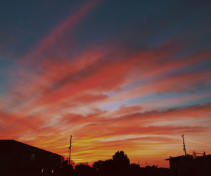 beautiful, cotton candy, and sky image