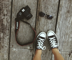 shoes, camera, and canon image
