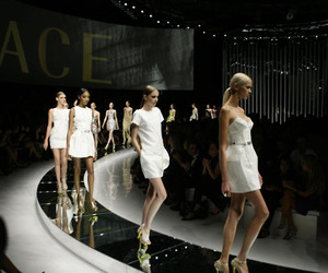 fashion, model, and Versace image