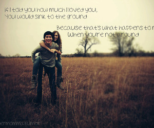couple, quote, and vintage image