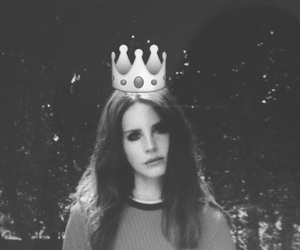 crown, Queen, and lana del rey image