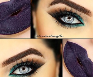 eyes, lips, and makeup image