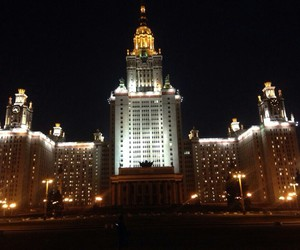 МГУ view moscow image