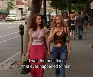 Carrie Bradshaw, funny, and humor image