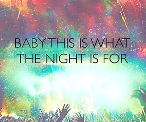music, night, and party image
