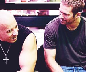 miss you, paul walker, and Vin Diesel image