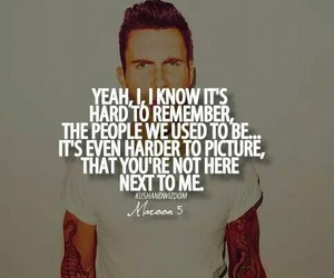 maroon 5, quote, and payphone image