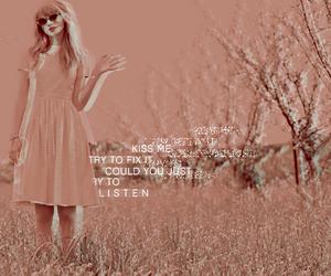 Lyrics, red, and Taylor Swift image