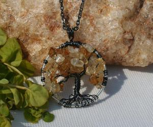 etsy, trending, and tree of life pendant image