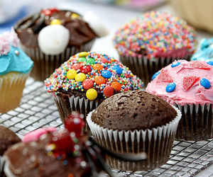 cupcake, yummy, and yum image