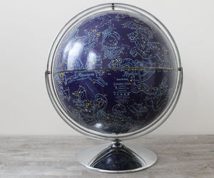blue, globe, and stars image