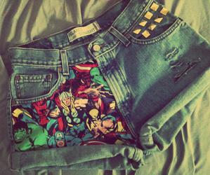Marvel, comic, and shorts image