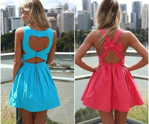 dress, heart, and cute image