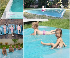 outdoor, water slide, and for kids image