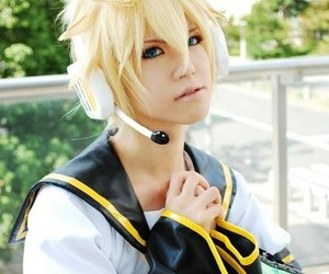 anime, vocaloid, and cosplay image
