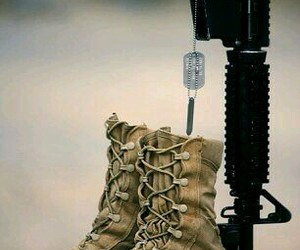 respect, salute, and dogtags image