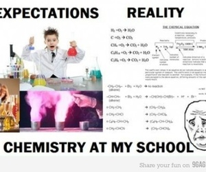 school, chemistry, and story image