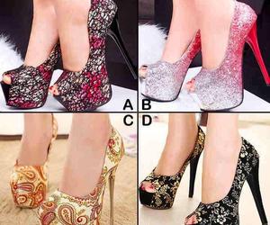elegant, shoes, and heels image