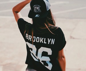 girl, fashion, and Brooklyn image