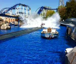 attraction, coaster, and poseidon image
