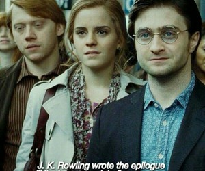harry potter, jk rowling, and hermione granger image