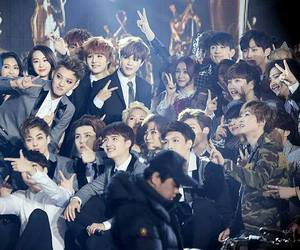 exo, kpop, and super junior image