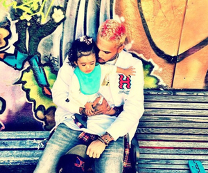 chris brown, daughter, and royalty image