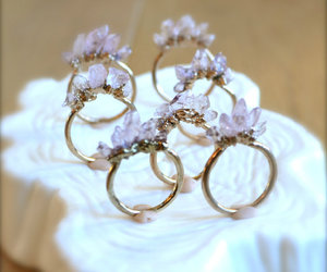 crystal, beautiful, and rings image