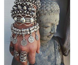 boho, bohemian, and Buddha image