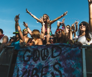 good vibes, hippie, and peace image