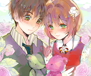 anime, couple, and cardcaptor sakura image