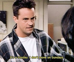 Sunday, friends, and chandler image