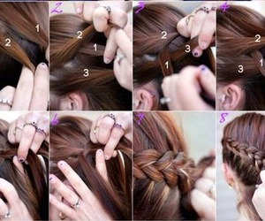 hairstyle, cool, and tutorial image