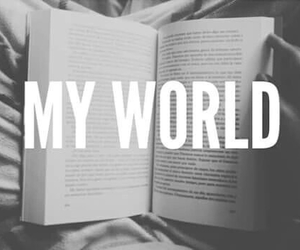 book, world, and My World image