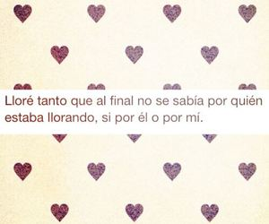 cry, frases, and desamor image