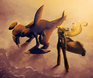 cynthia and pokemon image