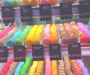 macaroon, blue, and bright image